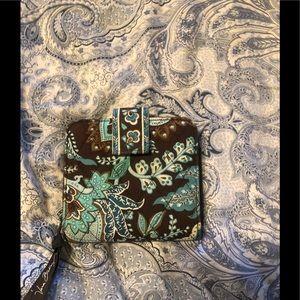 Vera Bradley wallet in java blue